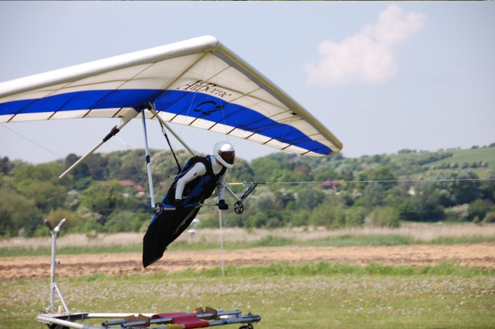 Glider launches